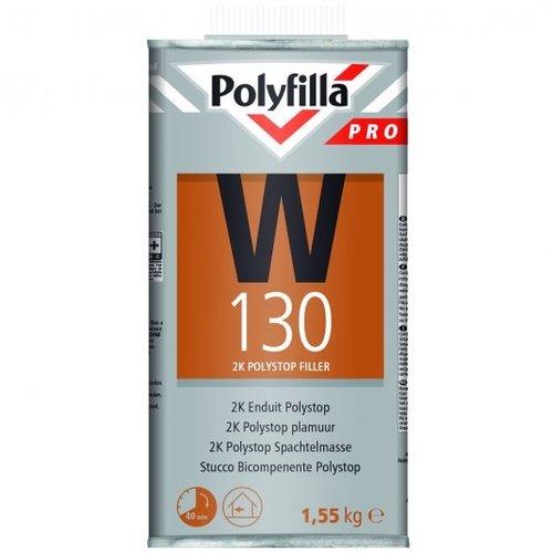 Polyfilla Pro W130 2K Polystop Plamuur - 1,55 kg