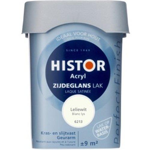 Histor Acryl Zijdeglans Lak - 750 ml Leliewit