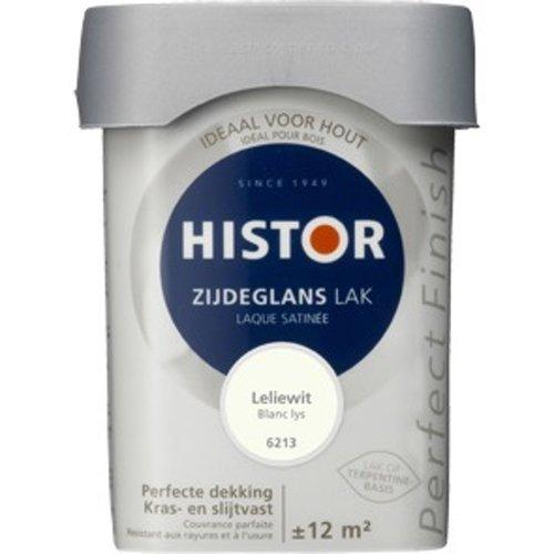 Histor Perfect Finish Zijdeglans Lak - 750 ml Leliewit