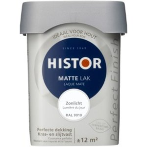 Histor Perfect Finish Matte Lak - 750 ml RAL 9010