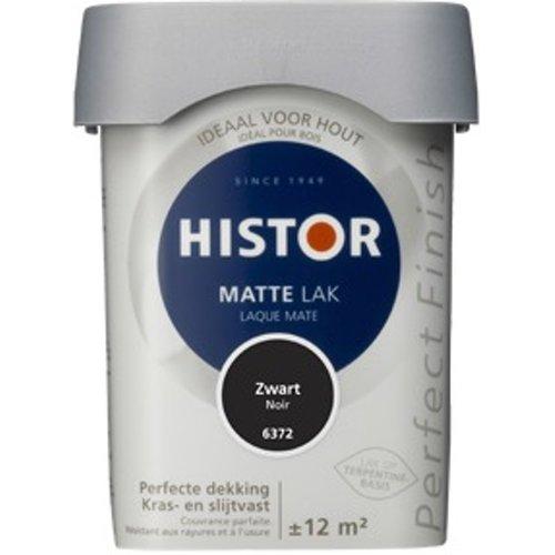 Histor Perfect Finish Matte Lak - 750 ml Zwart