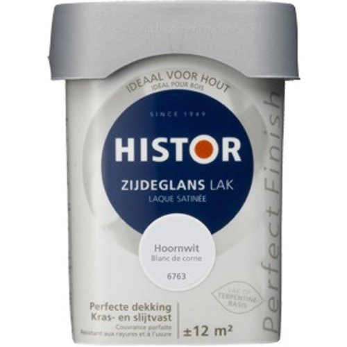 Histor Perfect Finish Zijdeglans Lak - 750 ml Hoornwit