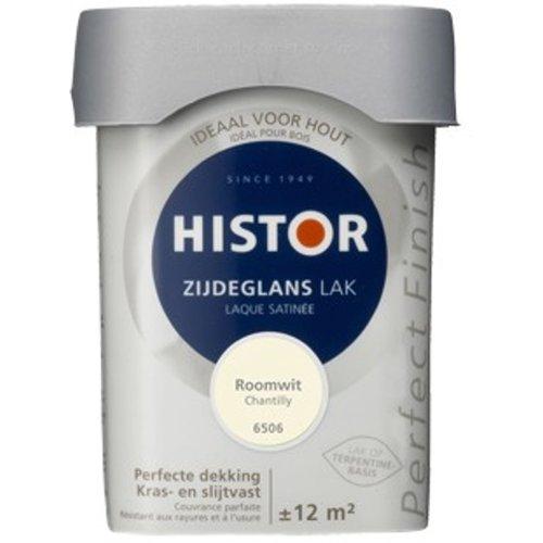 Histor Perfect Finish Zijdeglans Lak - 750 ml Roomwit