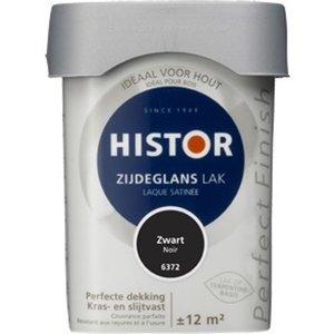 Histor Perfect Finish Zijdeglans Lak - 750 ml Zwart