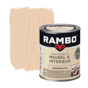 Rambo Pantserbeits Meubel & Interieur Mat 750 ml - Warm Beige