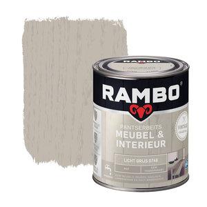 Rambo Pantserbeits Meubel & Interieur Mat 750 ml - Licht Grijs
