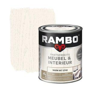 Rambo Pantserbeits Meubel & Interieur Mat 750 ml - Warm Wit
