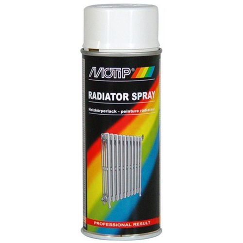 Motip Radiator Spray- RAL 9010