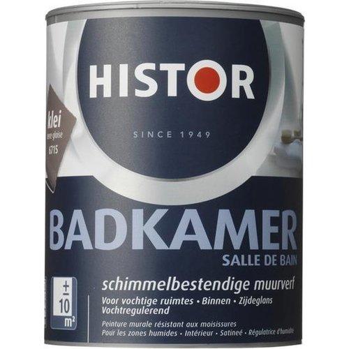 Histor Badkamer Muurverf - 1 liter - Klei