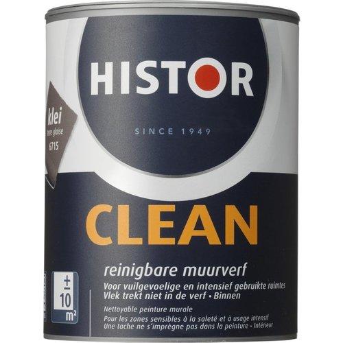 Histor Clean Muurverf - 1 liter - Klei