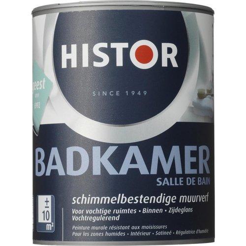 Histor Badkamer Muurverf - 1 liter - Geest