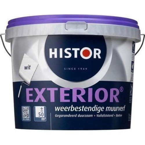 Histor Exterior Muurverf - 2,5 liter - Wit