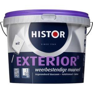 Histor Exterior Muurverf - 5 liter - Wit