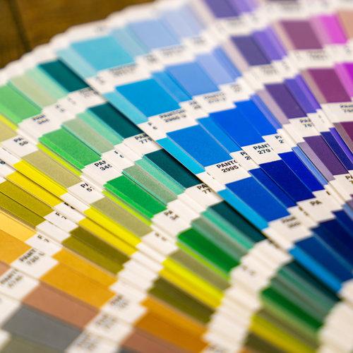 Kleurenwaaiers & verf testers