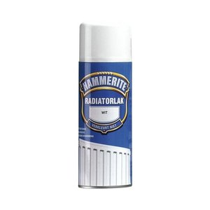 Hammerite Radiatorlak Spuitbus - 400 ml Wit