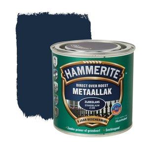 Hammerite Metaallak Direct over Roest Zijdeglans - Z228 Standblauw