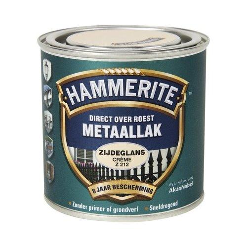 Hammerite Metaallak Direct over Roest Zijdeglans - Z212 Creme