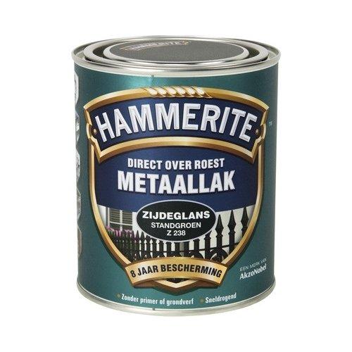 Hammerite Metaallak Direct over Roest Zijdeglans - Z238 Standgroen