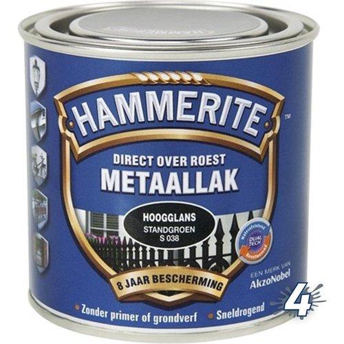 Hammerite Metaallak Direct over Roest Hoogglans - S030 Groen