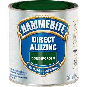 Hammerite Metaallak Direct AluZinc - 750 ml Donkergroen