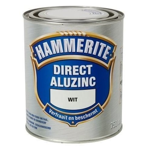 Hammerite Metaallak Direct AluZinc - 750 ml Wit