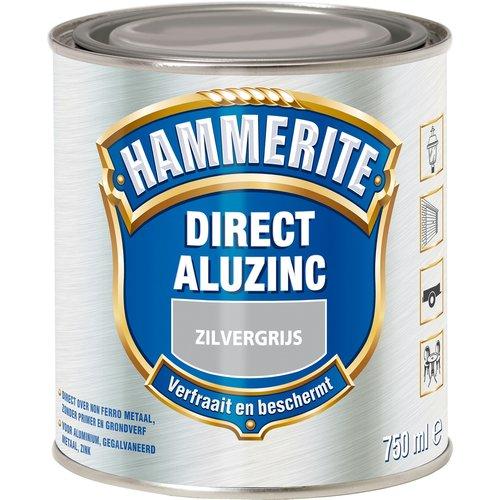 Hammerite Metaallak Direct AluZinc - 750 ml Zilvergrijs