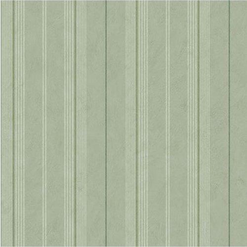 Dutch Wallcoverings Behang Annuell Streep Groen 11022
