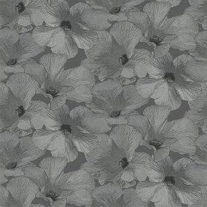 Dutch Wallcoverings Behang Annuell Hibiscus Grijs 11003