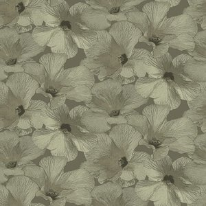 Dutch Wallcoverings Behang Annuell Hibiscus Zand 11005