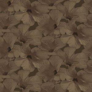 Dutch Wallcoverings Behang Annuell Hibiscus Koper 11006