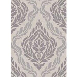 Dutch Wallcoverings Behang Carat Deluxe Medaillon Beige/Zilver 10060-02
