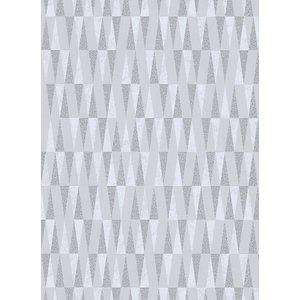 Dutch Wallcoverings Behang Carat Deluxe Dessin Grijs/Zilver 10061-31