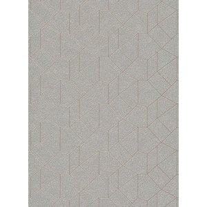 Dutch Wallcoverings Behang Carat Deluxe Dessin Zilver/Beige 10062-02