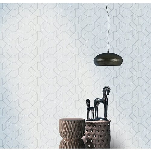 Dutch Wallcoverings Behang Carat Deluxe Dessin Grijs 10062-31