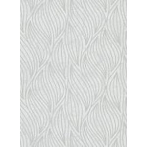 Dutch Wallcoverings Behang Carat Deluxe Dessin Wit/Zilver 10063-31
