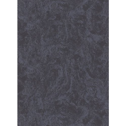 Dutch Wallcoverings Behang Carat Deluxe Uni Zwart 10078-15