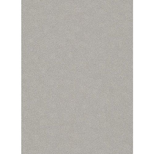 Dutch Wallcoverings Behang Carat Deluxe Uni Zilver 10079-02