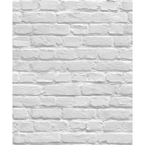 Dutch Wallcoverings Behang Escapade Baksteen Grijs L831-09