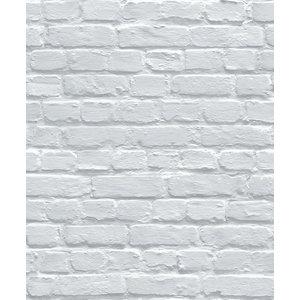 Dutch Wallcoverings Behang Escapade Baksteen Blauwgrijs L831-01