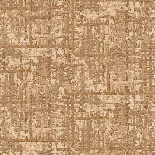 Dutch Wallcoverings Behang Embellish Fabric Abstract Gold De120094