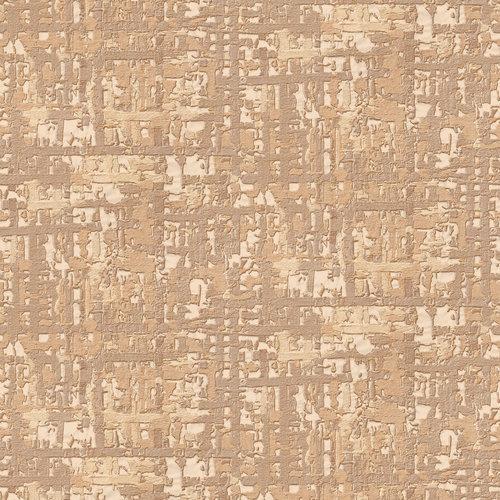 Dutch Wallcoverings Behang Embellish Fabric Abstract Beige De120093
