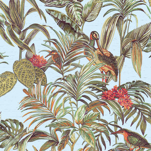 Dutch Wallcoverings Behang Embellish Bird Of Paradise Multi De120014