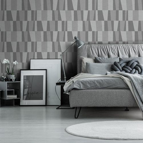 Dutch Wallcoverings Behang Design Ruth Grey 12014
