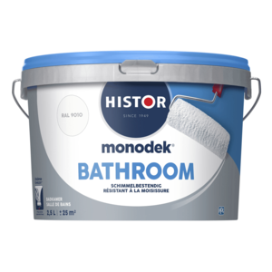 Histor Monodek Bathroom - Wit - 2,5 liter