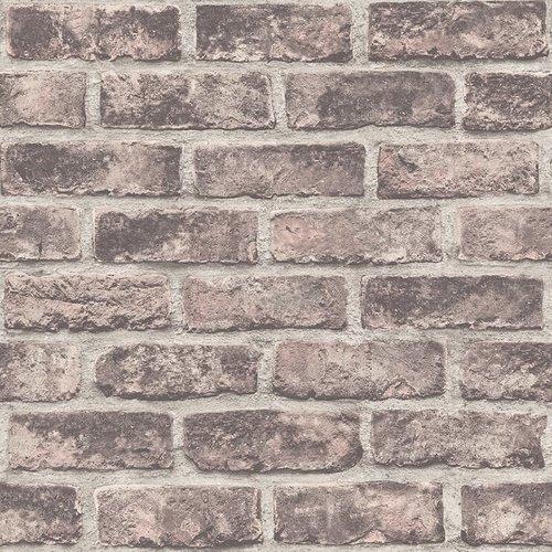 Dutch Wallcoverings Behang Exposure Baksteen Bruin Ep2303