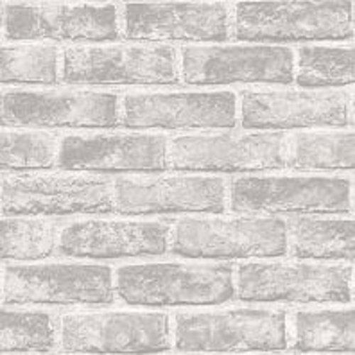 Dutch Wallcoverings Behang Exposure Baksteen Grijs Ep2306