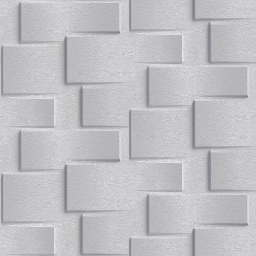 Dutch Wallcoverings Behang Exposure 3D Steen Grijs Ep3302