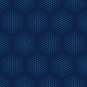 Dutch Wallcoverings Behang Galactik Stippen Blauw J506-01