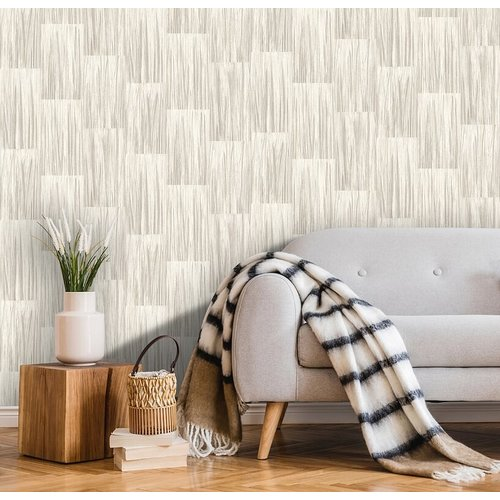 Dutch Wallcoverings Behang Galactik Rechthoek Beige L857-07