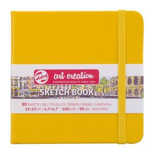 Royal Talens Art Creation Schetsboek Golden Yellow - 12 x 12 cm - 140 gram